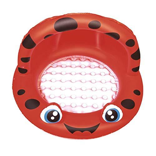 Leiyini Baby-Schwimmbecken, Sonnenschirm Baby Aufblasbarer Pool Kinderspielzeug Spielbecken Badewanne Ozeanball Pools Aufblasbarer Pool Floaties Boot Für Kleinkinder   Ungiftiger PVC-Kunststoff