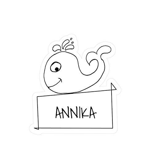 JOllipets Baby Kinder Aufkleber - ANNIKA - Variante: Tiere Zoo – Farbe: Design: Wal