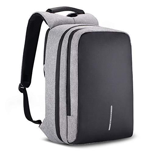 Stylisch Laptop-Rucksäcke für 15,6 Zoll Notebooks Gepäckträgertasche mit Rucksack Geschäft Reise Rucksacks Herren und Frauen von Fresion | Wasserabweisenden Stoff