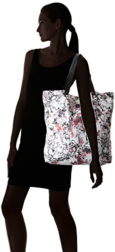 Black Lily - Neema Canvas Bag, Borsa shopper Donna Multicolore (Mehrfarbig (Rose))