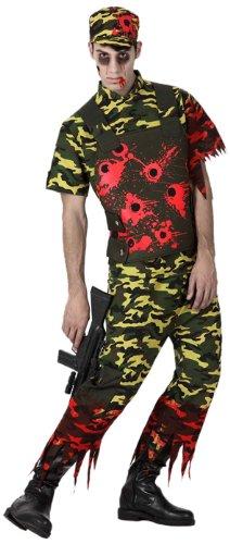 Atosa 8422259149057 - Verkleidung Zombisoldat (Zombie Kostüme Street Herren Erwachsene)