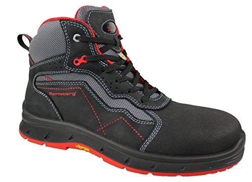 DEVON eSD-chaussures de sécurité montantes rEMISBERG 20301-00--, noir