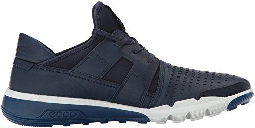 Ecco Intrinsic 2, Sneakers Hautes Homme Bleu (True Navy/true Navy)