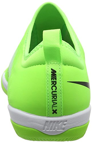 Nike Mercurial X Finale Ii Ic, Scarpe da Calcio Uomo, Multicolore Grün (Flash Lime/Blk-Wht-Gm Lt Brwn)