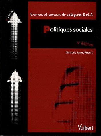 Politiques sociales : Examens et concours de catétories B et A