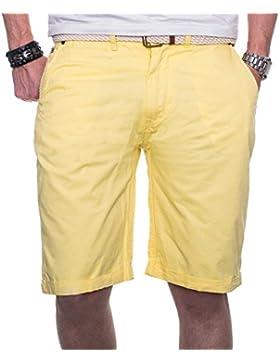 Geographical Norway Herren Chino Short Sommer Bermuda kurze Hose Shorts
