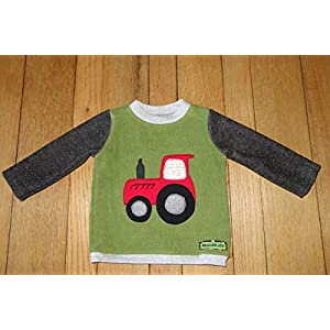 cooles Trecker Shirt Gr. 92 Baumwollfleece