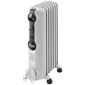 DeLonghi Radia S TRRS0715 – Radiador de aceite, 3 nieveles de potencia, termostato, 1500 W