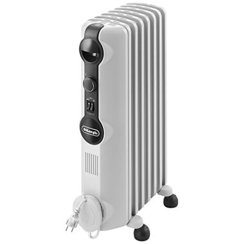 41yT34htT4L. SS500  - De'Longhi TRRS0715 Radia S Oil Filled Radiators, 1500 W, 230 V, White, 10