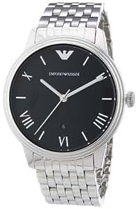 Emporio Armani Herren-Armbanduhr XL Analog Quarz Edelstahl AR1614