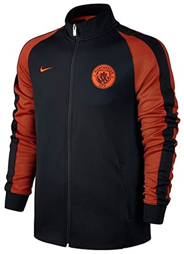 Nike M Nsw N98 Trk Jkt Aut - Giacca Linea Manchester City F.C. da uomo, colore Nero, taglia M