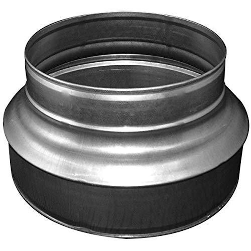 Réducteur de gaine alu 150-100 mm - gaine de ventilation