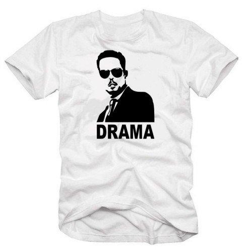 DRAMA - T-Shirt Weiss Gr.XXXL (8 Entourage-staffel)