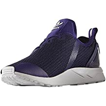 uk availability 274a9 22421 adidas Originals ZX Flux ADV Asymetrical Zapatillas Sneakers Purpura para  Hombre