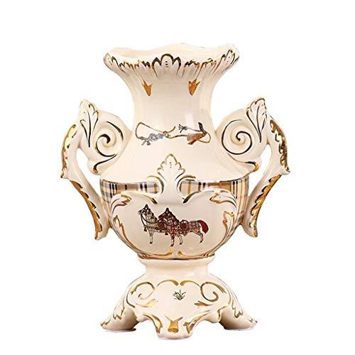 Vases LXF de Salon personnalisé de céramique créative Maison Neuve de Bougie Fleur séchée