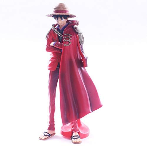 JXXDDQ Modelo de juguete de One Piece One Piece del 20 Aniversario de la Figura de Manto Estatua Oficina en casa Decoración