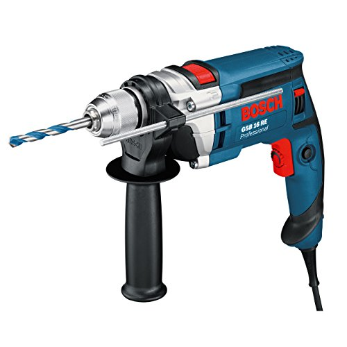 Bosch Professional 060114E500 Perceuse à percussion GSB 16 RE 750 W