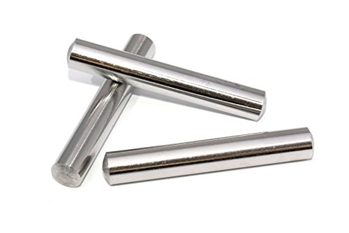 5 Stück Zylinderstifte 6x50 DIN 7 Edelstahl V1A Zylinderstift Paßstifte Toleranz M6