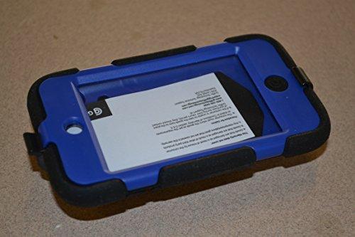 Griffin Schwarz/Blau umgebungseinflüssen Schutzhülle für iPod Touch 4. Generation, Robust Schutzhülle für iPod Touch 4. Generation.