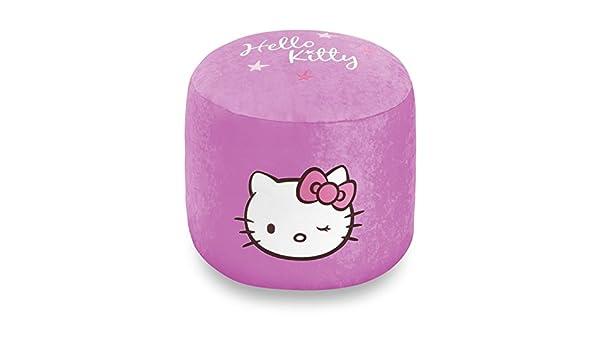 Hello kitty poltrona sacco pouf diversi colori rosa turchese o