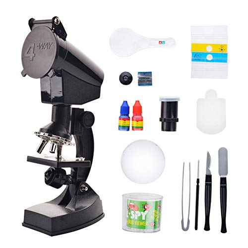 Wenzhihua Microscopio Alta definición Juego microscopios