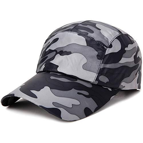 JJHR Baseball caps Camouflage Hut Im Freien Klettern Abenteuer Sport Mütze Männer Und Frauen Können Sommer Mütze Anpassen Panel-camouflage Twill Cap