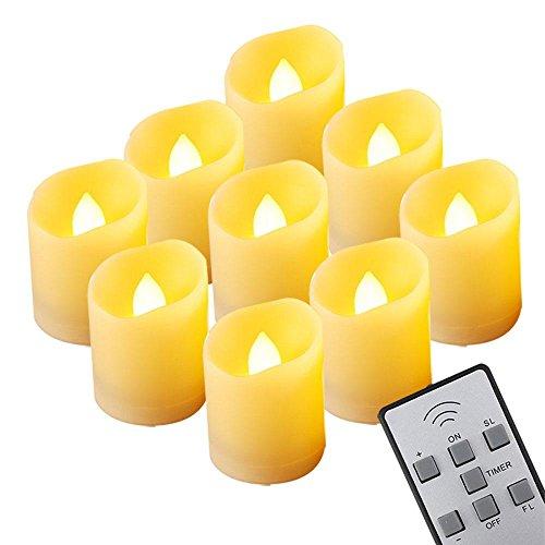 6pezzi led candele elettroniche, candele senza fiamma, accogliente per san valentino, compleanno, feste, natale, festival, decorazione, luce bianca calda) 9 pezzi