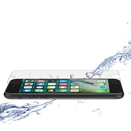Custodia e nuovo iPhone 7Proteggi Schermo in Vetro Temperato [3d Touch compatibile], confezione da 3