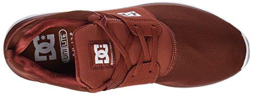 DC Shoes Herren Heathrow M Sneaker Rot (Burnt Henna/White)