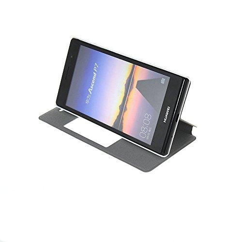 MOONCASE Coque en Cuir Housse de Protection Étui à rabat Case pour Apple iPhone 6 Plus A18123