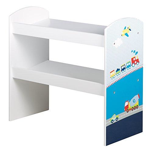Großartig Roba Spielregal U0027Rennfahreru0027, Spielzeug  U0026 Aufbewahrungs Regal Fürs  Kinderzimmer, Inkl