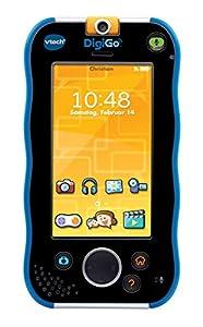 VTech DigiGo Multifunctional gadget - electrónica para niños (Multifunctional gadget, MicroSD (TransFlash), Botones, Tocar, Negro, Azul, Polímero de litio, MP3) Alemania