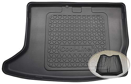 Preisvergleich Produktbild ZentimeX Z3427316 Diamanten-Design Kofferraumwanne fahrzeugspezifisch + Klett-Organizer (Laderaumwanne,  Kofferraummatte)