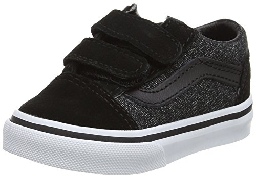 67baf77638f Amazon.co.uk. Vans Unisex Babies  Old Skool V Trainers