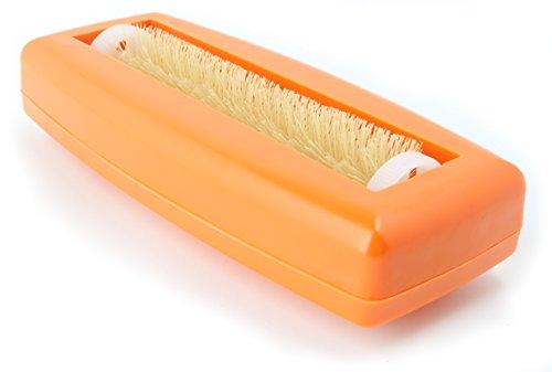 cepillo de miga Crumpy papel de miga mesa papel escoba Alfombra Cepillo barrendero aspiradora mano Cepillos Cepillo Coche Caravana aspiradora Rapido naranja