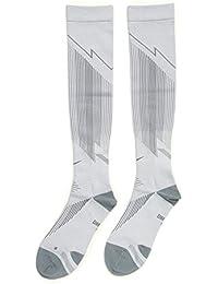 Nike Knee High Elite Run HYP Comp Calcetines, Unisex, 4-5.5