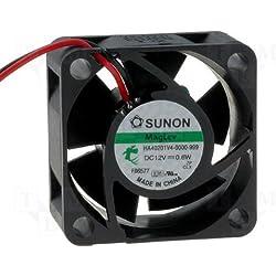 Sunon Lüfter 40x40x20mm HA40201V4-999 DC 12V 4700 U/min 13dBA Vapolager mit MLS
