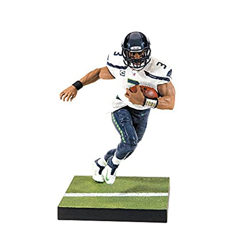 McFarlane NFL Series 35 RUSSELL WILSON #3 - Seattle Seahawks Sports Picks Figure
