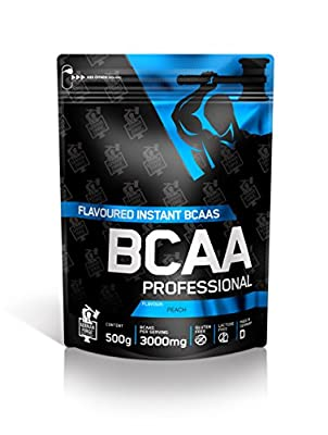 Ironmaxx Unisex Bcaa Professional Peach Powder, Multicoloured, 500 g from IronMaxx