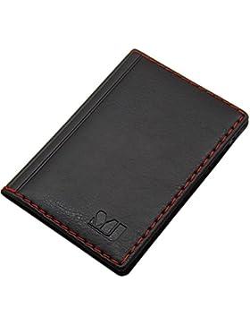 Elegante tarjetero para tarjeta de crédito y tarjeta de visita en varios colores y diseños