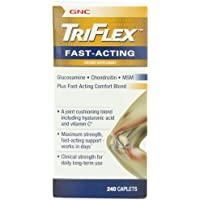 Gnc Triflex Fast Acting Caplets, 240 Count by GNC