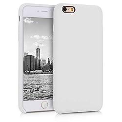 kwmobile Apple iPhone 6 Plus / 6S Plus Hülle - Handyhülle für Apple iPhone 6 Plus / 6S Plus - Handy Case in Weiß