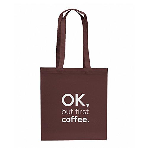 NERDO OK, but first coffee. - Stoffbeutel, ()