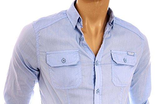 Kaporal - Farme, Camicia Uomo Blu