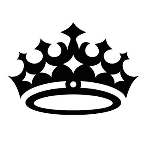 Kinderzimmer Wandaufkleber Wasserdicht Königin Krone Wandtattoo Abnehmbare Vinyl Kunst Wohnkultur Kinder Geschenke 44x62 cm - Die Königin-plakat