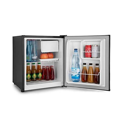 Klarstein Snoopy Eco • Mini réfrigérateur avec congélateur • Capacité de 46L • Compartiment congélateur 4L • 41dB • Économe en électricité • Noir