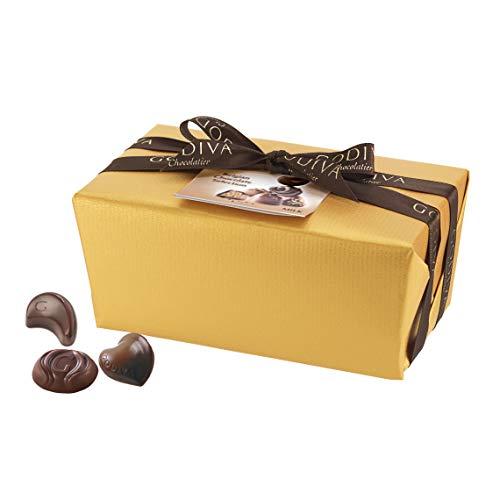 Godiva Ballotin in Goldpapier W Nur Milch, 40 Stück, 500 g (Godiva-pralinen Belgische)