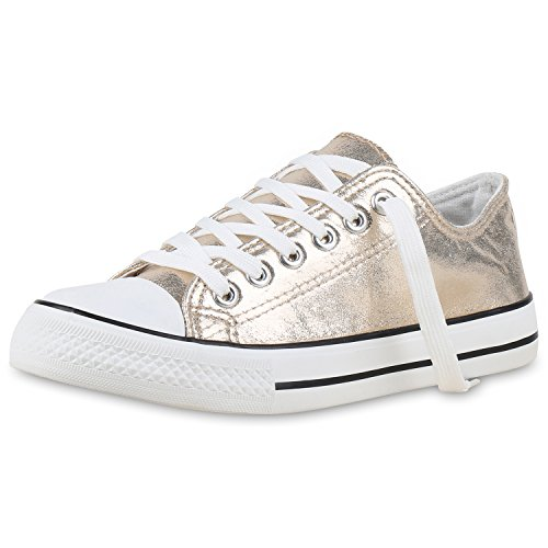 damen-schuhe-sneakers-gold-metallic-39