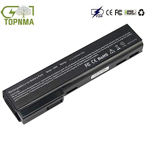 Topnma CC06 CC06XL CC09 Batteria per HP EliteBook 8460P 8460W 8470P 8470W 8570P 8560P ProBook 6560B 6470B Notebook Battery[10.8/11.1 V 4400mAh 6 Cell]