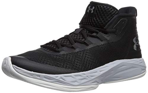 Under Armour Herren Jet Mid Basketballschuhe, Schwarz (Black 3020623-003), 42 EU
